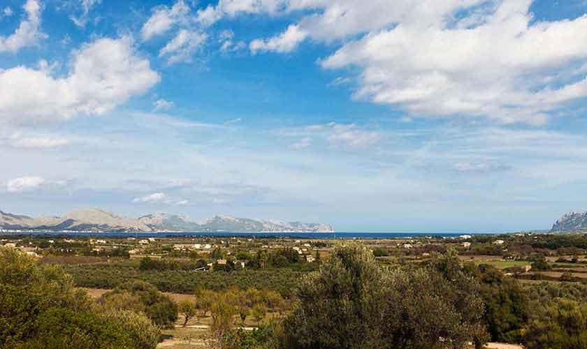 Blick von der Ferienvilla Mallorca PM 3740