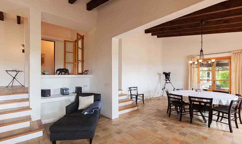 Wohnraum Ferienvilla Mallorca PM 3740