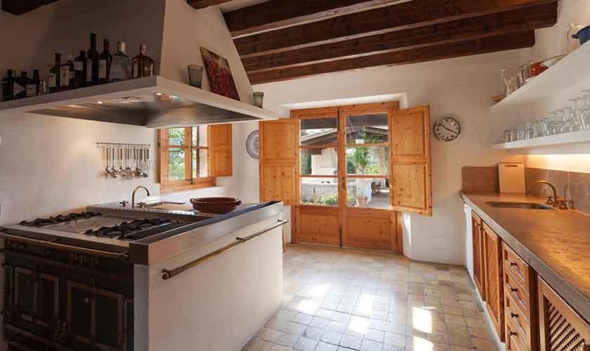 Küche Landhaus-Villa Mallorca PM 3740