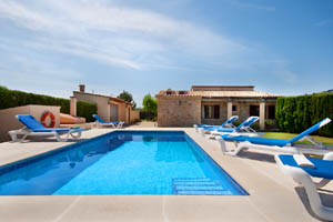 Pool abends Finca Pollensa 6 Personen PM 378