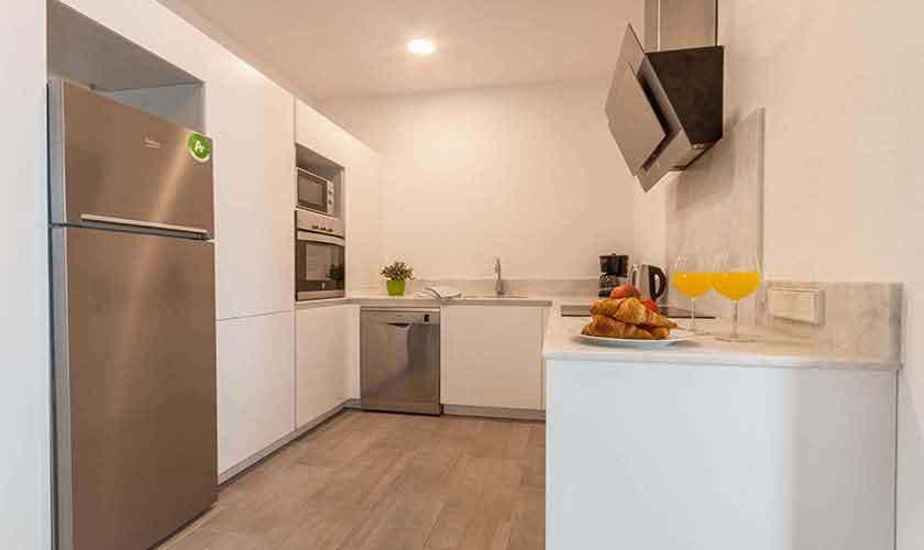 Küche Ferienhaus Mallorca PM 3782