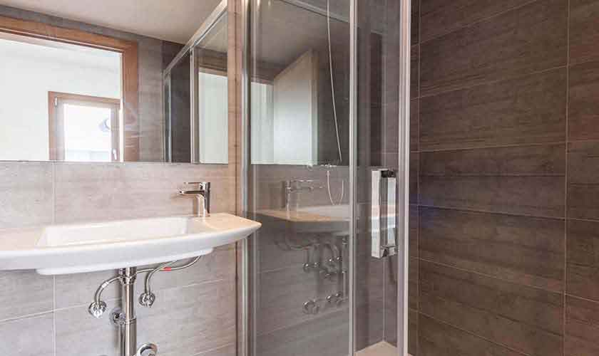 Dusche Ferienhaus Mallorca PM 3782