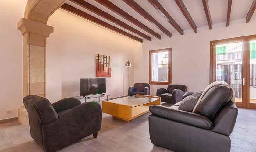 Wohnraum Ferienhaus Mallorca PM 3782