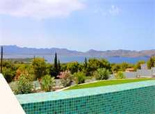 Pool und Meerblick Ferienvilla Mallorca PM 3801 für 8 10 Personen