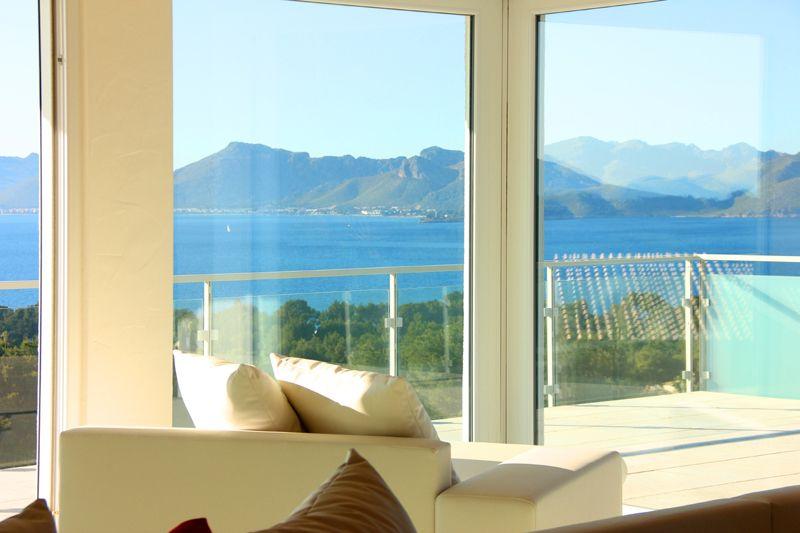 Meerblick und Terrasse Villa Mallorca PM 3801