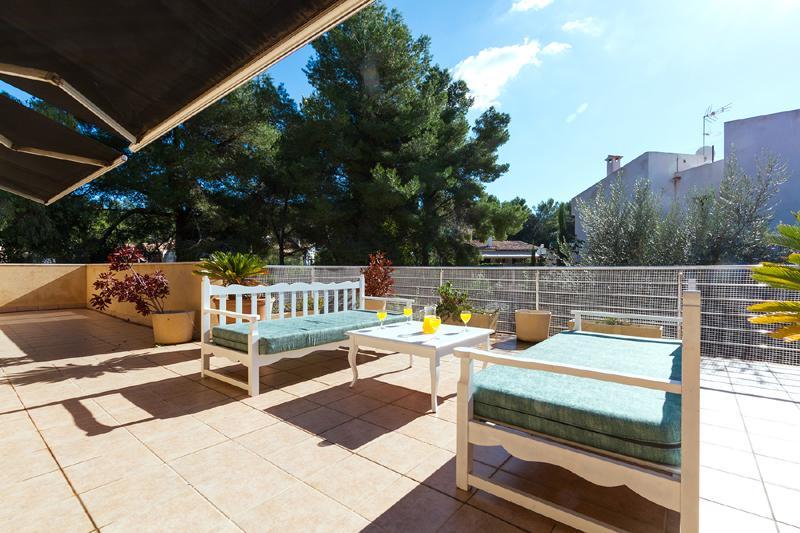 Terrasse 3 von 3 Ferienhaus Mallorca Nordküste Strandnäehe PM 3805