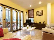 Wohnraum Ferienhaus Mallorca Nordküste Strandnäehe Pool PM 3805