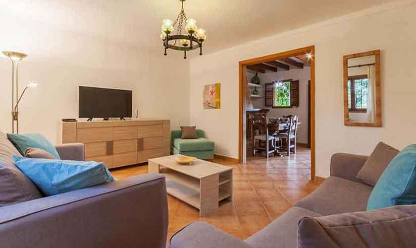 Wohnraum Finca Mallorca 8 Personen PM 3846