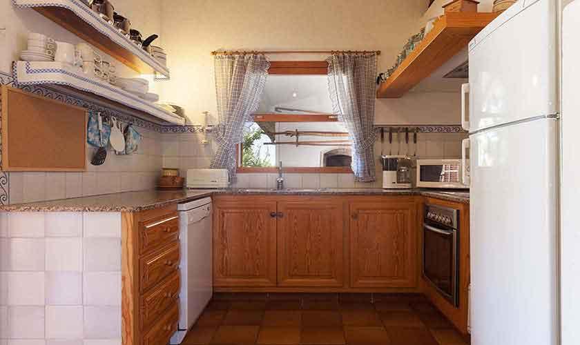 Küche Finca Mallorca Norden PM 3861