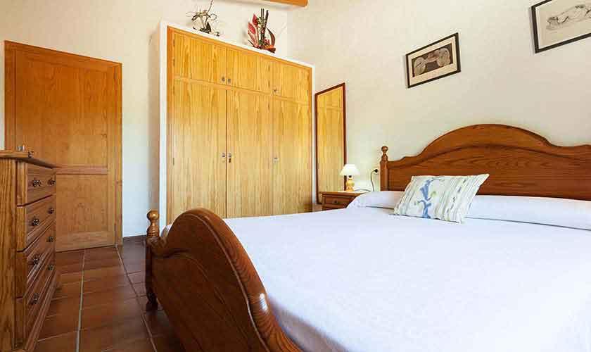 Schlafzimmer Finca Mallorca Norden PM 3861