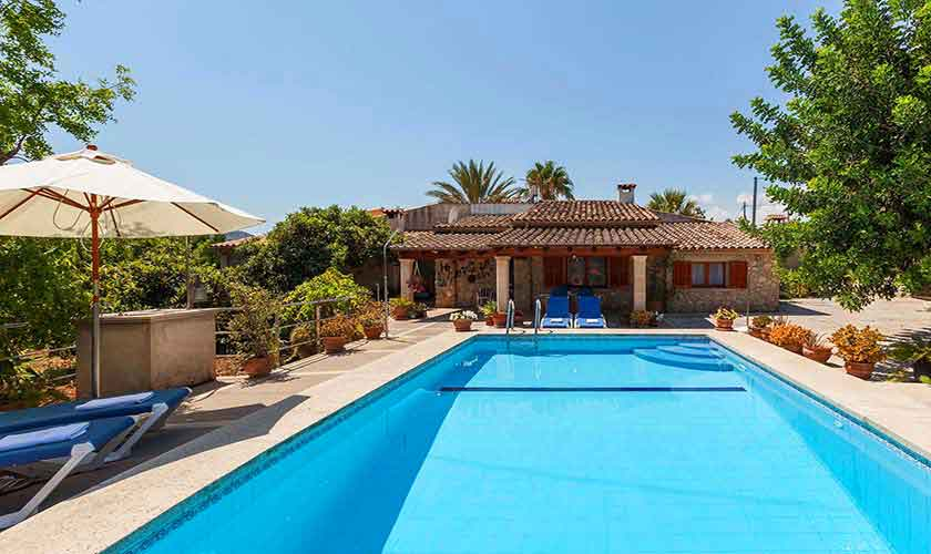 Pool und Finca Mallorca Norden PM 3861