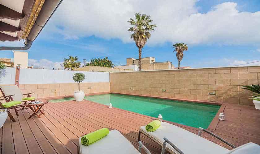 Pool und Ferienhaus Mallorca Alcudia PM 3883