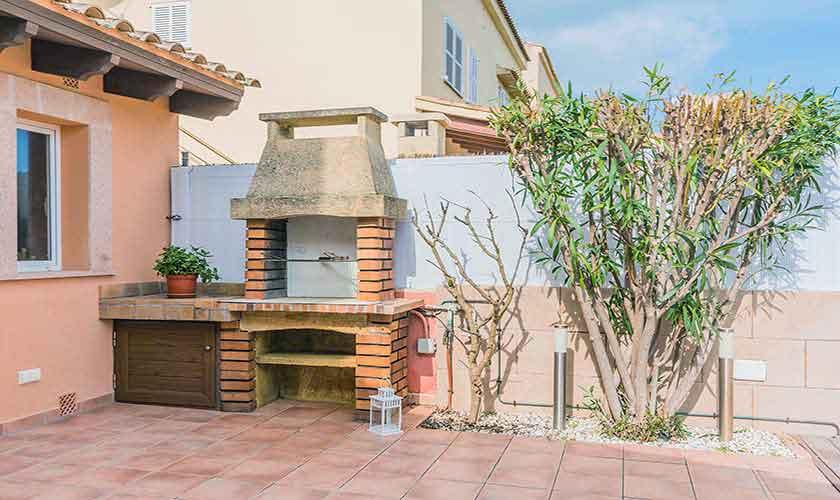Grillplatz Ferienhaus Mallorca Alcudia PM 3883