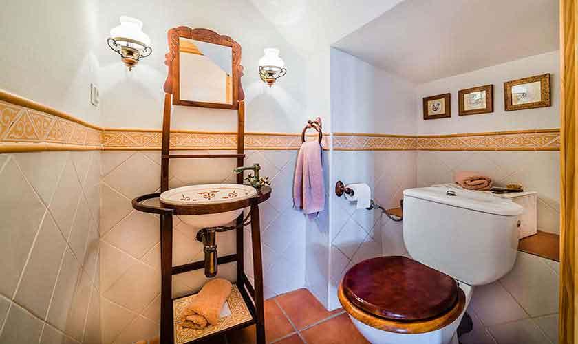 Badezimmer Ferienhaus Mallorca Alcudia PM 3883