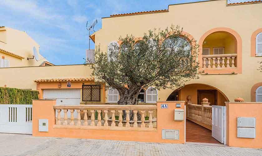 Front Ferienhaus Mallorca Alcudia PM 3883
