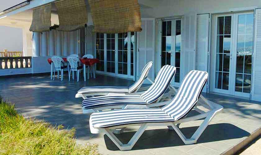 Terrasse Ferienvilla Mallora PM 3884