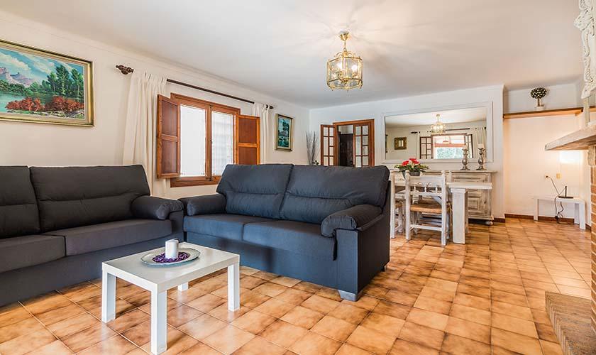 Wohnraum Finca Mallorca Norden PM 3998