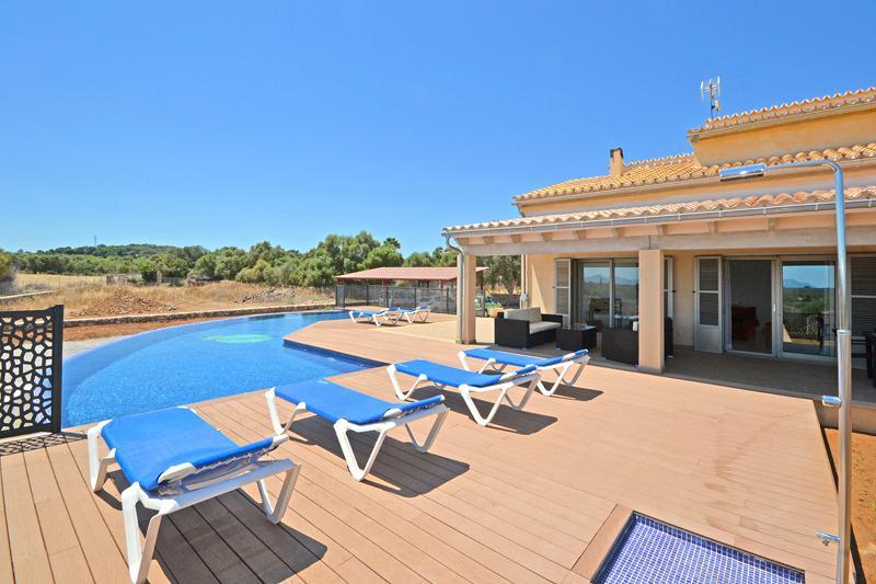 Pool und Finca Mallorca Norden PM 425