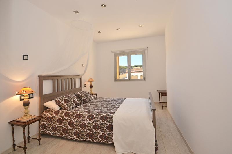 Schlafzimmer Ferienhaus Mallorca Norden PM 425