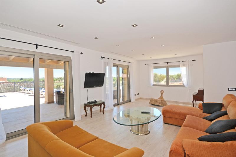 Wohnraum Ferienhaus Mallorca Norden PM 425