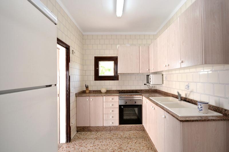 Küche Ferienhaus Meeresnähe Mallorca PM 462