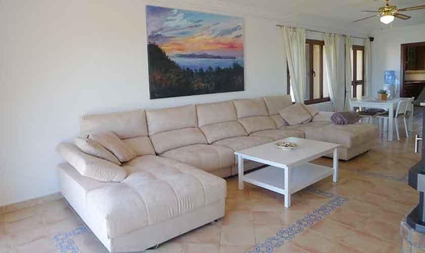 Wohnraum Ferienvilla Mallorca PM 470