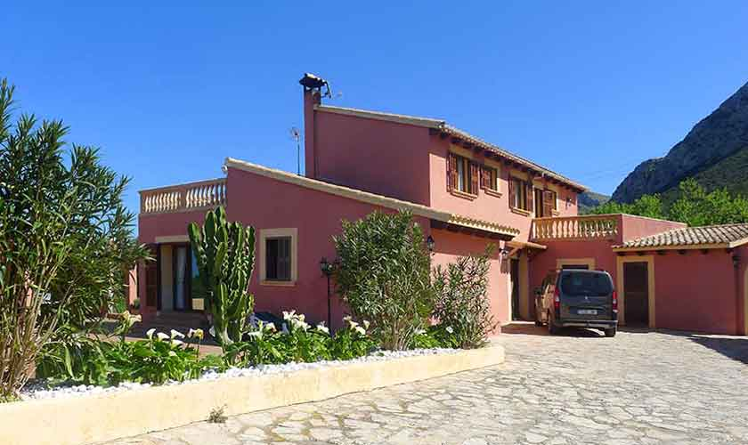 Blick auf die Ferienvilla Mallorca PM 470