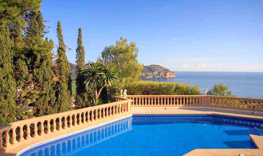 Meerblick Ferienvilla  Mallorca Ostküste PM 501