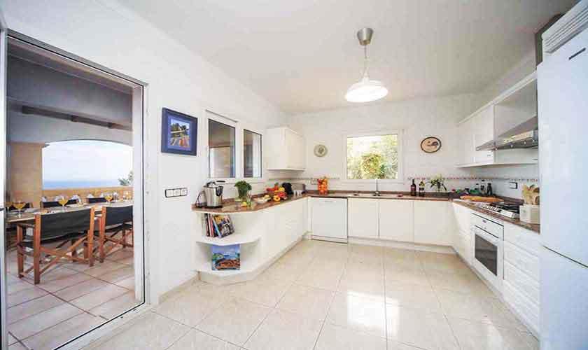 Küche Ferienvilla  Mallorca Ostküste PM 501