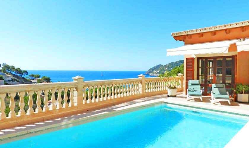 Pool und Meerblick Villa Mallorca PM 5015