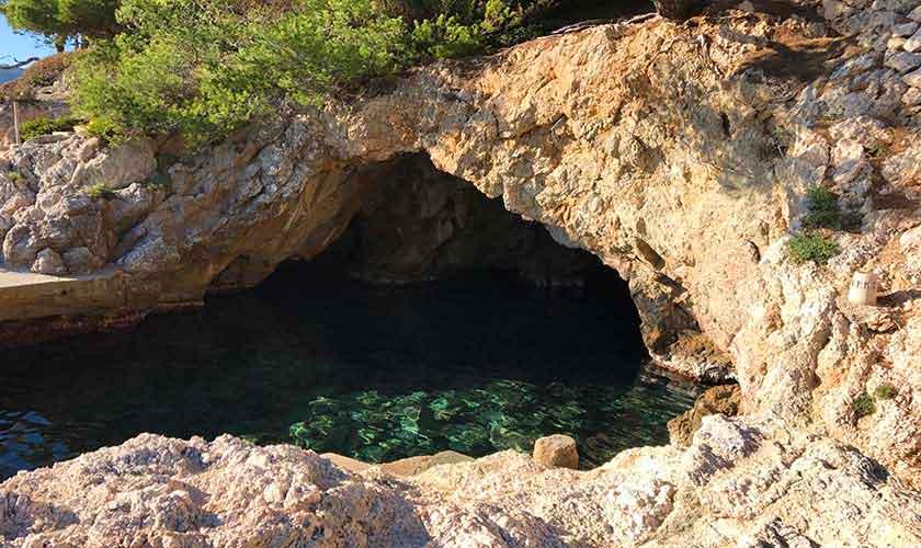 Meereszugang Cap Vermell
