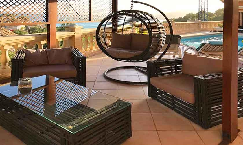 Lounge Terrasse Ferienhaus Mallorca PM 5015