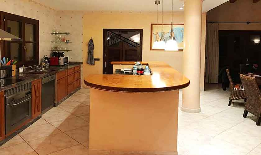 Küche Ferienhaus Mallorca PM 5015