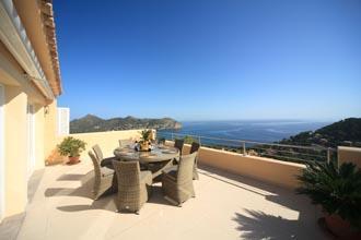 Meerblick und Poolvilla Mallorca Costa de Canyamel PM 504