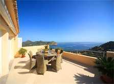 Meerblick von der Ferienvilla Mallorca Ostküste PM 504