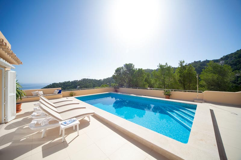 Pool der Ferienvilla Mallorca Ostküste PM 504