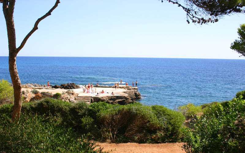 Meereszugang Costa de Canyamel