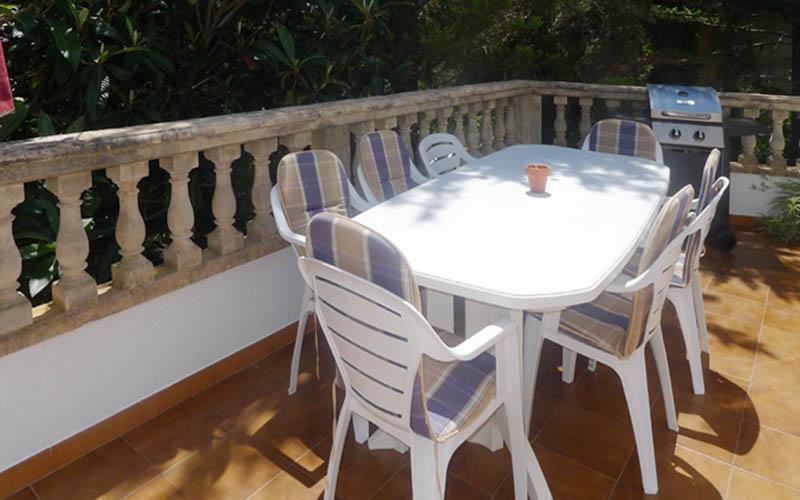 Terrasse Ferienhaus Mallorca PM 5191 Costa de Canyamel