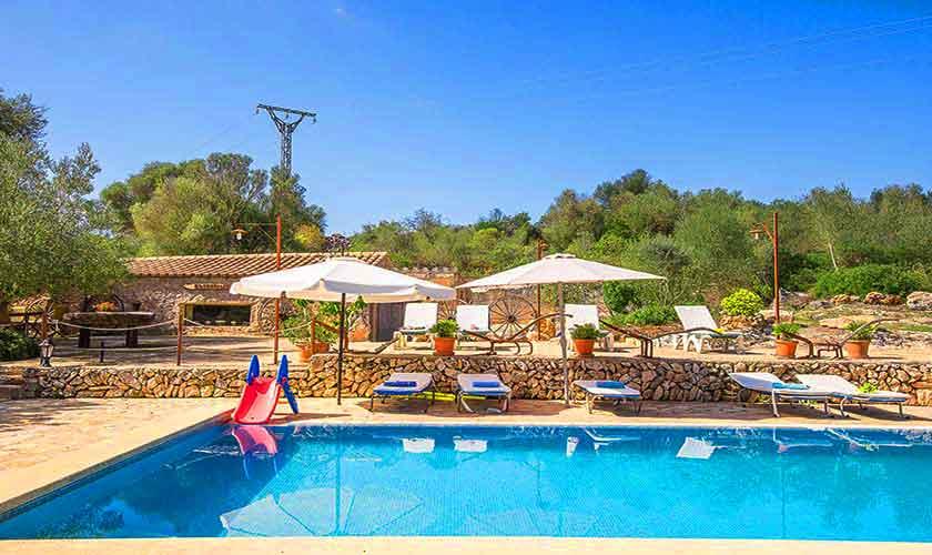 Poolblick Finca Mallorca Nordosten PM 5210