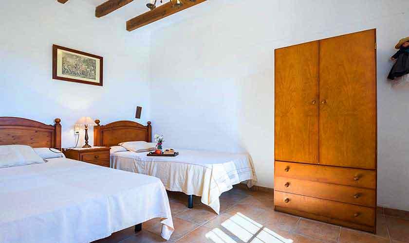 Schlafzimmer Finca Mallorca Nordosten PM 5210