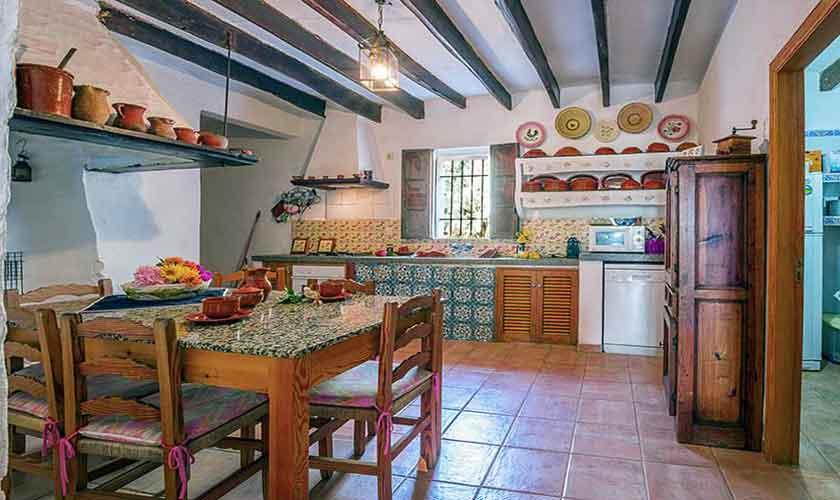 Küche Finca Mallorca Nordosten PM 5210
