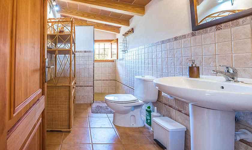 Badezimmer Finca Mallorca Nordosten PM 5210
