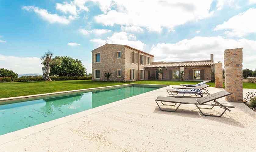 Pool und Villa Mallorca PM 5240