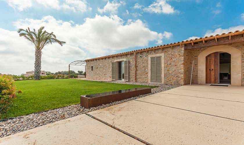 Blick auf die Ferienvilla Mallorca PM 5240