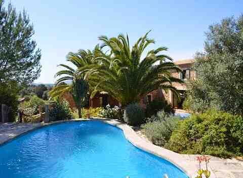 Poolblick und Finca Mallorca Arta für 9 - 11 Personen PM 5270