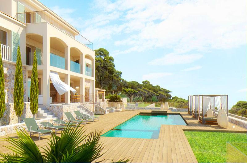 Pool und Villa Mallorca PM 5398 Font de Sa Cala