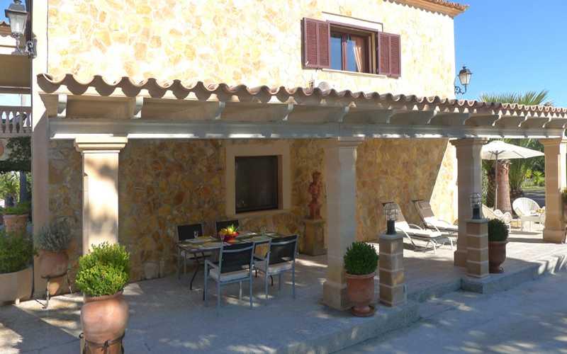 Terrasse der Ferienwohnung Mallorca PM 549