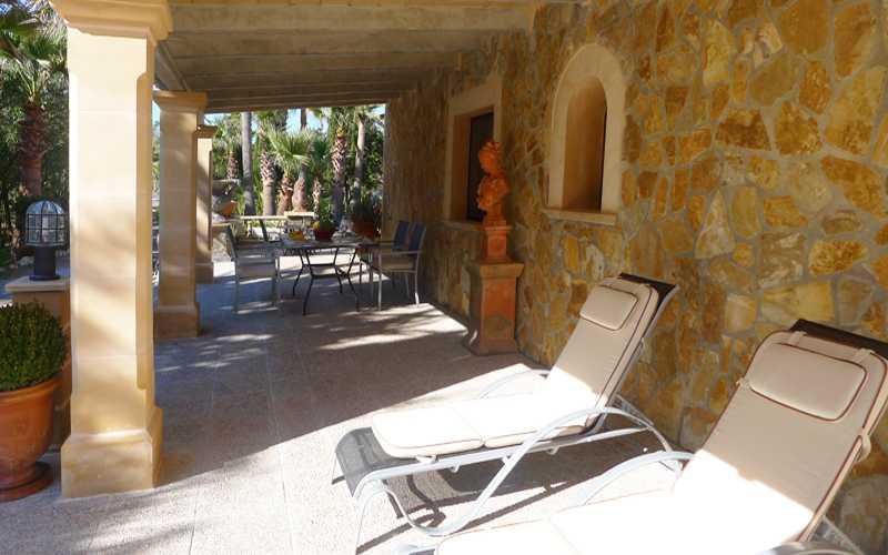 Terrasse 2 der Ferienwohnung Mallorca PM 549
