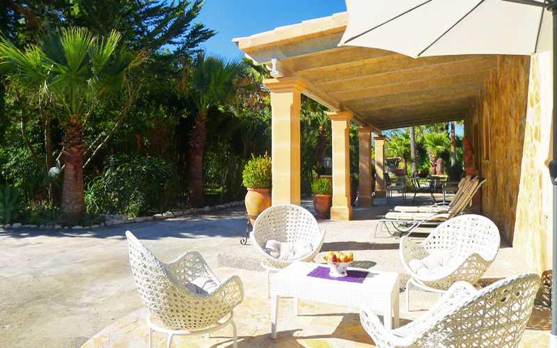 Terrasse 3 der Ferienwohnung Mallorca PM 549
