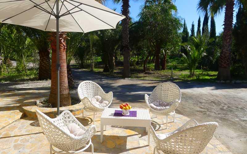 Terrasse 4 der Ferienwohnung Mallorca PM 549